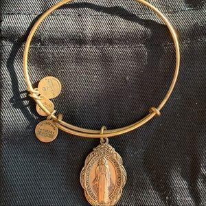 Alex and Ani Mother Mary bracelet